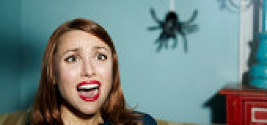 Woman afraid of Spider - Getty Images