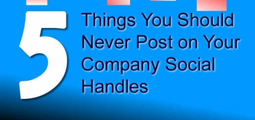 5 things you should never post on your company social handles