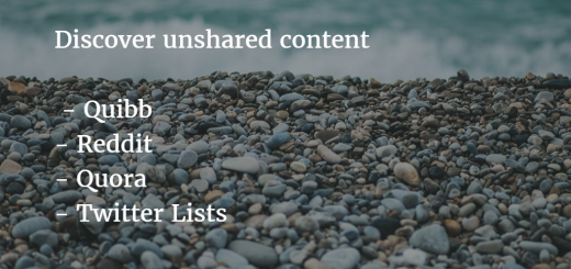 Great places to find good content to share in social media